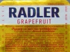 Пенная коллекция Radler Grapefruite ▶ Gallery 1942 ▶ Image 6736 (Back Label • Контрэтикетка)