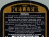 Keller светлое ▶ Gallery 2782 ▶ Image 9556 (Back Label • Контрэтикетка)