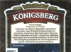 Königsberg ▶ Gallery 441 ▶ Image 1109 (Back Label • Контрэтикетка)