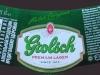 Grolsch Premium Lager ▶ Gallery 492 ▶ Image 1332 (Neck Label • Кольеретка)