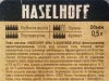 Haselhoff American Pale Ale ▶ Gallery 1768 ▶ Image 5450 (Back Label • Контрэтикетка)