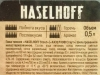 Haselhoff Stout ▶ Gallery 1771 ▶ Image 5456 (Back Label • Контрэтикетка)