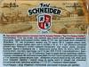 Karl Schneider Weissbier ▶ Gallery 2012 ▶ Image 7222 (Back Label • Контрэтикетка)