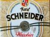 Karl Schneider Weissbier ▶ Gallery 2012 ▶ Image 7223 (Label • Этикетка)