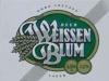 Weissen Blum Lager ▶ Gallery 1291 ▶ Image 3716 (Label • Этикетка)