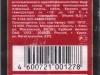Пикур крепкое ▶ Gallery 594 ▶ Image 1670 (Back Label • Контрэтикетка)
