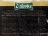 Златовице черное легкое ▶ Gallery 2827 ▶ Image 9739 (Back Label • Контрэтикетка)