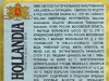 Hollandia Premium Lager ▶ Gallery 1271 ▶ Image 3682 (Back Label • Контрэтикетка)