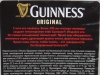 Guinness Original ▶ Gallery 1368 ▶ Image 3964 (Back Label • Контрэтикетка)