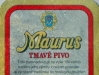 Maurus Tmavé pivo ▶ Gallery 956 ▶ Image 2597 (Back Label • Контрэтикетка)