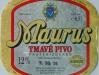 Maurus Tmavé pivo ▶ Gallery 956 ▶ Image 2598 (Label • Этикетка)