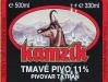 Kamzík Tmavé pivo ▶ Gallery 965 ▶ Image 2625 (Label • Этикетка)