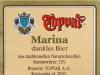 Topvar Marína tmavé ▶ Gallery 931 ▶ Image 2521 (Back Label • Контрэтикетка)