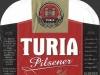 Turia Pilsener ▶ Gallery 387 ▶ Image 946 (Label • Этикетка)