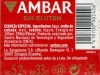 Ambar Especial ▶ Gallery 2822 ▶ Image 9715 (Back Label • Контрэтикетка)