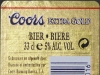 Coors Extra Gold ▶ Gallery 388 ▶ Image 1094 (Back Label • Контрэтикетка)