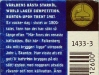 Falcon Export (Ljus Lager) ▶ Gallery 814 ▶ Image 2892 (Back Label • Контрэтикетка)