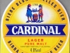 Cardinal Lager Pure Malt ▶ Gallery 1015 ▶ Image 2844 (Label • Этикетка)
