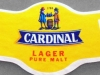 Cardinal Lager Pure Malt ▶ Gallery 1015 ▶ Image 2845 (Neck Label • Кольеретка)