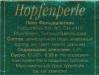 Hopfenperle ▶ Gallery 1022 ▶ Image 2863 (Back Label • Контрэтикетка)