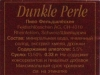 Dunkle Perle ▶ Gallery 1021 ▶ Image 2859 (Back Label • Контрэтикетка)