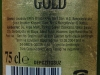 Marmara Gold ▶ Gallery 11 ▶ Image 1004 (Back Label • Контрэтикетка)