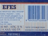 Efes Pilsener ▶ Gallery 2819 ▶ Image 9708 (Back Label • Контрэтикетка)