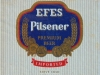 Efes Pilsener ▶ Gallery 2819 ▶ Image 9709 (Label • Этикетка)