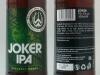 Joker IPA ▶ Gallery 2726 ▶ Image 9263 (Glass Bottle • Стеклянная бутылка)