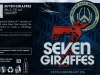 Seven Giraffes ▶ Gallery 2899 ▶ Image 10046 (Wrap Around Label • Круговая этикетка)