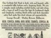 Scottish Oat Stout ▶ Gallery 2032 ▶ Image 6455 (Back Label • Контрэтикетка)
