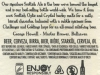 Scottish Ale ▶ Gallery 2033 ▶ Image 6460 (Back Label • Контрэтикетка)