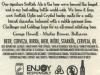 Scottish Ale ▶ Gallery 2033 ▶ Image 6460 (Back Label • Контрэтикетка)