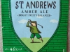 St. Andrews Amber Ale ▶ Gallery 1731 ▶ Image 5342 (Label • Этикетка)