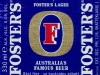 Foster's Lager ▶ Gallery 382 ▶ Image 927 (Label • Этикетка)