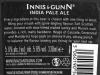 Innis & Gunn IPA ▶ Gallery 2028 ▶ Image 6423 (Back Label • Контрэтикетка)