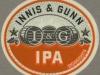 Innis & Gunn Marmalade IPA ▶ Gallery 2027 ▶ Image 6430 (Neck Label • Кольеретка)
