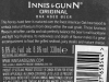 Innis & Gunn Original ▶ Gallery 2029 ▶ Image 6431 (Back Label • Контрэтикетка)