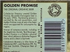 Golden Promise ▶ Gallery 2942 ▶ Image 10252 (Back Label • Контрэтикетка)