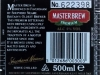Master Brew Premium ▶ Gallery 2949 ▶ Image 10274 (Back Label • Контрэтикетка)