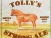 Tolly's Strong Ale ▶ Gallery 1963 ▶ Image 6211 (Label • Этикетка)