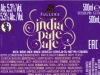 India Pale Ale ▶ Gallery 1878 ▶ Image 9289 (Back Label • Контрэтикетка)