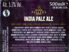 India Pale Ale ▶ Gallery 1878 ▶ Image 6197 (Back Label • Контрэтикетка)