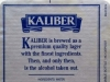 Kaliber Alcohol Free Lager ▶ Gallery 2964 ▶ Image 10328 (Back Label • Контрэтикетка)