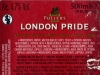 London Pride Premium Ale ▶ Gallery 37 ▶ Image 9973 (Back Label • Контрэтикетка)