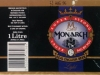 Monarch Super Strong Lager ▶ Gallery 2957 ▶ Image 10309 (Wrap Around Label • Круговая этикетка)