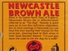Newcastle Brown Ale ▶ Gallery 48 ▶ Image 5330 (Back Label • Контрэтикетка)