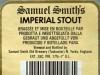 Samuel Smith's Imperial Stout ▶ Gallery 1962 ▶ Image 6208 (Back Label • Контрэтикетка)