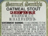 Samuel Smith's Oatmeal Stout ▶ Gallery 1964 ▶ Image 6217 (Back Label • Контрэтикетка)