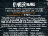 Ginger Beard ▶ Gallery 1123 ▶ Image 10661 (Back Label • Контрэтикетка)